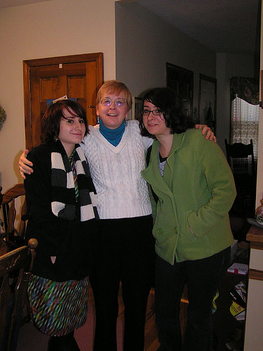 mom, kristen and myself last thanksgiving