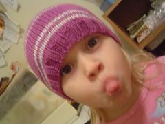 L.'s new hat