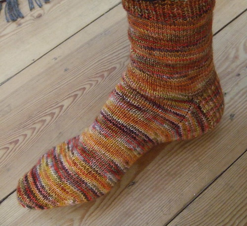 red pesto sock