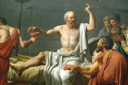NYC - Metropolitan Museum of Art - Death of Socrates