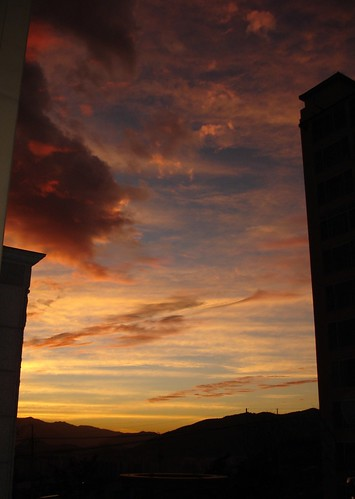 November Sonnenuntergang
