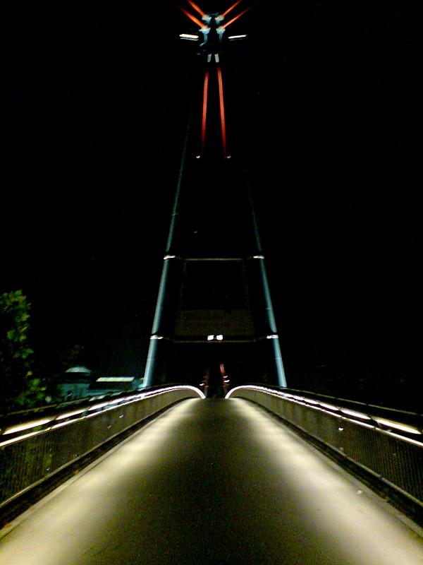 Holbeinsteg bridge Frankfurt