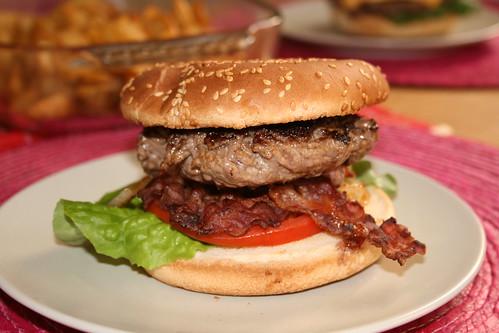Bacon Burger sans cheese de Thomas