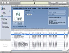 (2008-03-26) Official Second Life on iTunes Store