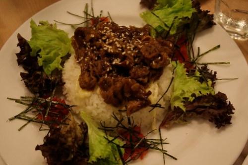 Yakiniku Rice Plate at UCC