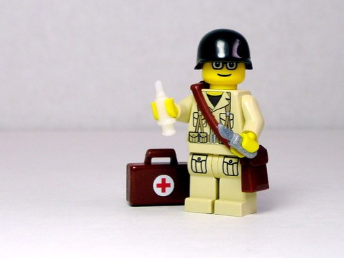 Medic with BrickArms Medkit on Flickr