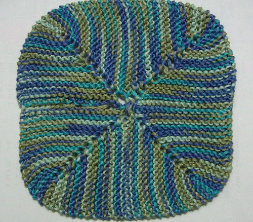 4 corner dishcloth