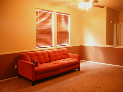 My New Orange Couch
