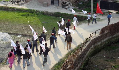 Vote for the Maoist by Gaurav Dhwaj Khadka