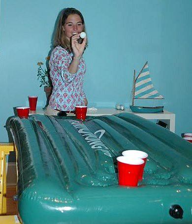 Limited Beer Pong Skills
