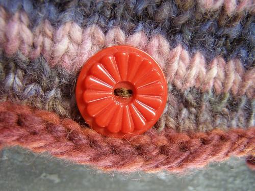 raspberry jam hat - button