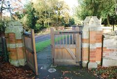 Gate, Winthorpe Church