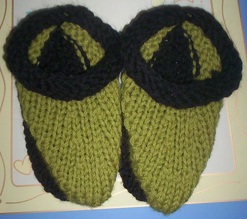 Noah's slippers