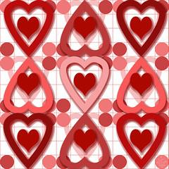 Valentine Heart Pattern #1