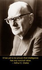 Arthur C Clarke - RIP