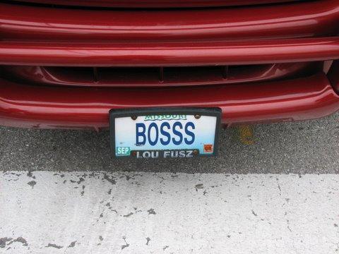 bosss no plate 280108