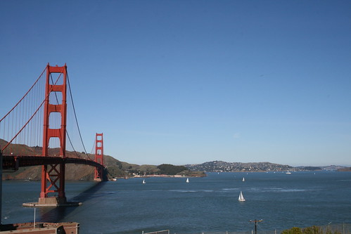 Golden Gate Bridge & Sailboat