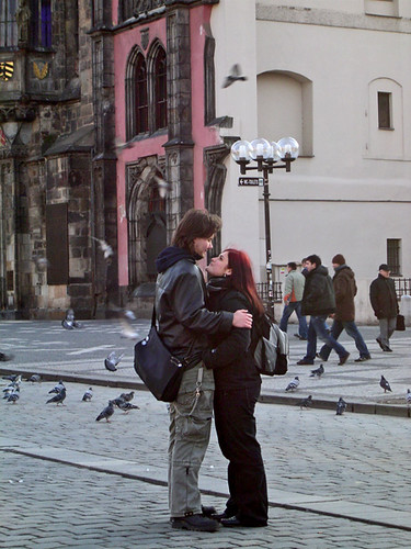 Prague Couple Whitney Portnoy
