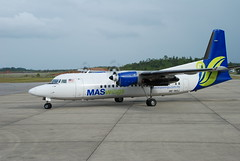 MAS Wings Fokker aircraft/Farispis' photo@www.flickr.com