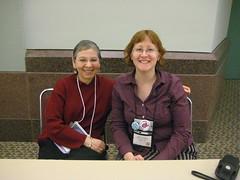 Nancy Pearl and me
