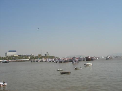 Mumbai_Taj Mahal飯店前海景1-1