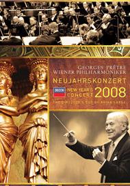 DVD neujahrskonzert 2008