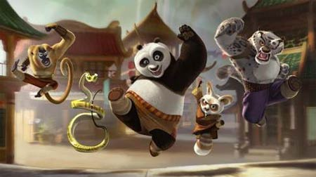 Kung fu panda fighters
