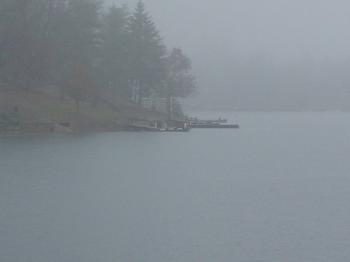 Foggy Day on the Lake