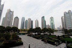 Shanghai- Pudong's skyscrapers
