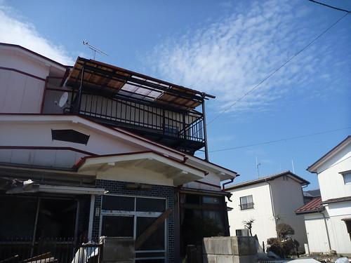 気仙沼でボランティア Vounteer at Kessennuma, Damaged by the Huge Tsunami of Japan Quake