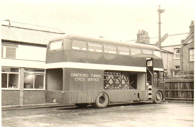 Dartford Tunnel Cycle Service bus
