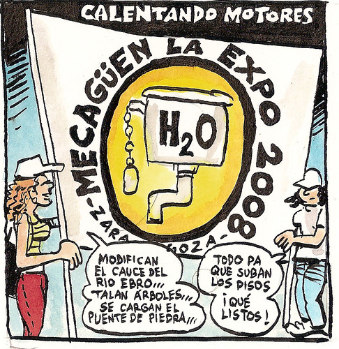 Dibujo Carlos Azagra Expo No