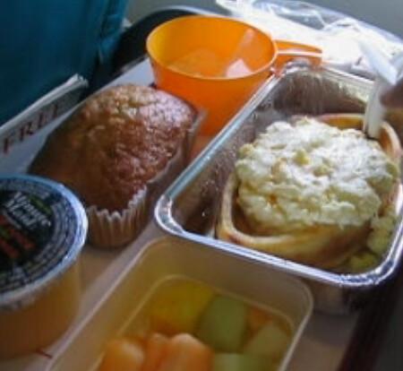 Airplane food screenshot
