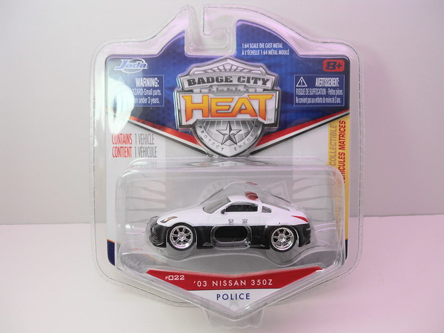 jada toys badge city heat wave 2 '03 nissan 350z (1)