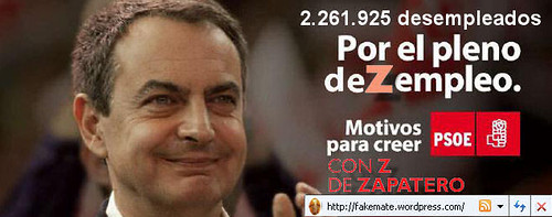 paro desempleo dezempleo corrupcion psoe chorizos chorizacos  inutiles zp zETAp zETApé Zapatero  socialista socialismo
