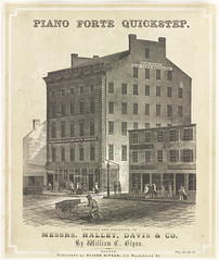 Hallet, Davis & Co. piano forte manufactory