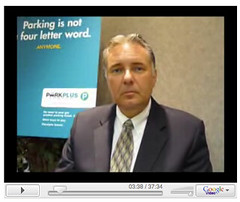 Fired Calgary Parking Authority manager Dale Fraser in an 2008 interview with Kempton Lam