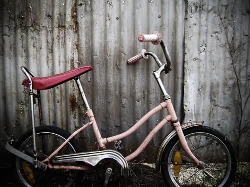 on ya bike...