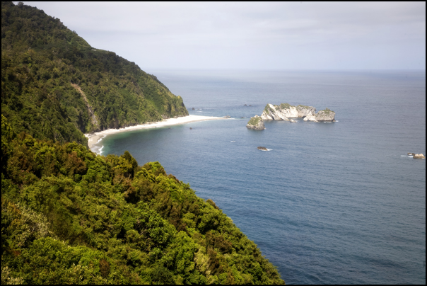 Knights Point Lookout, West Coast, New Zealand