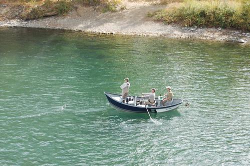 Fishing on the Sacramento River