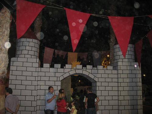 Castle walls!