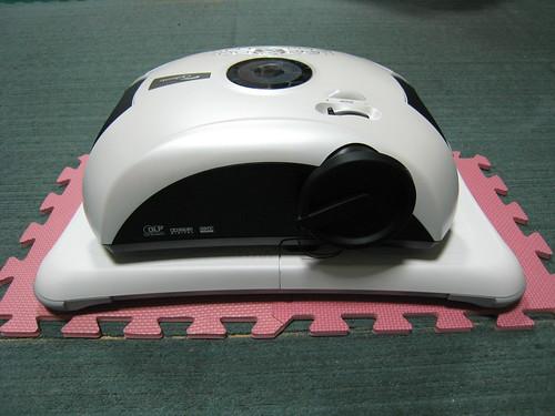 Optoma U2 投影機和Wii Fit