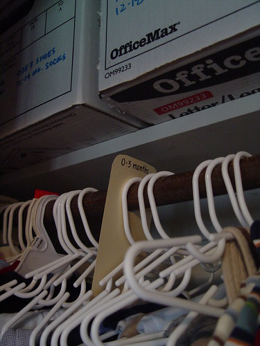 Make your own hanger dividers