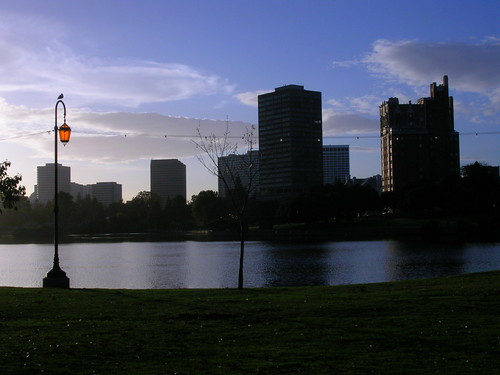 Sunset at Lake Merritt