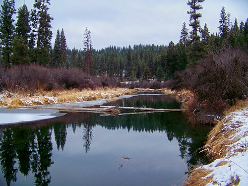 Thompson River in winter