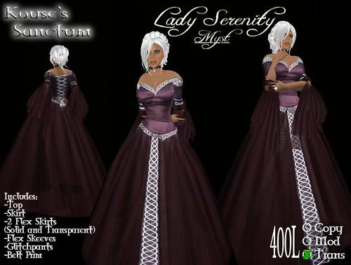 Lady Serenity - Myst