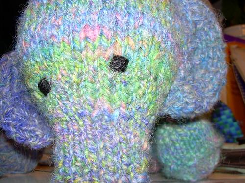Elefante, the face!