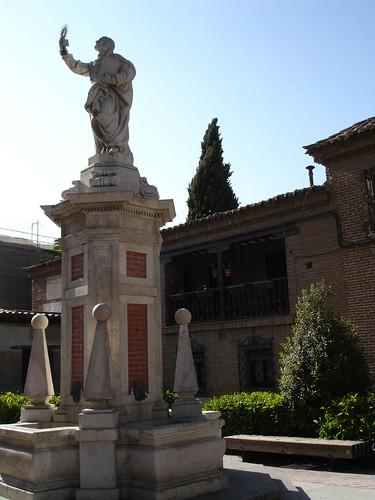 Plaza de los doctrinos sin arbol