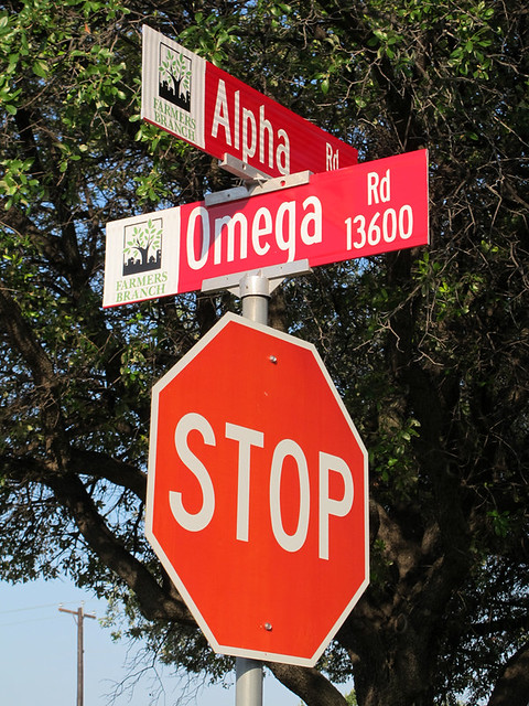 Alpha at Omega