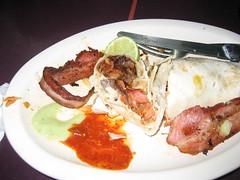 Inside the taco loco